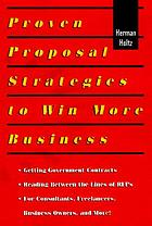 Proven proposal strategies to win more business