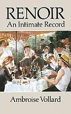 Renoir, an intimate record
