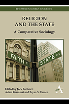 Religion and the state : a comparative sociology