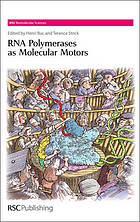 RNA polymerases as molecular motors