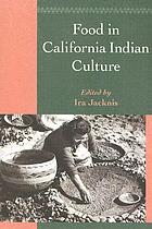 Food in California Indian culture