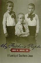 My father's people : a family of Southern Jews