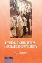 Citizens' rights, judges and state accountability
