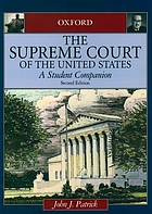 The Supreme Court of the United States : a student companion
