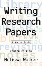 Writing research papers : a Norton guide