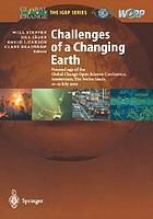 Challenges of a changing earth : proceedings of the Global Change Open Science Conference, Amsterdam, the Netherlands, 10-13 July 2001
