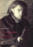 Memoirs of the blind : the self-portrait and other ruins