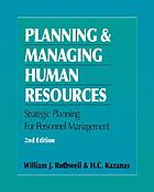 Strategic human resources planning and management