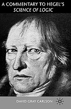 A commentary to Hegel's Science of logic