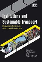 Institutions and sustainable transport : regulatory reform in advanced economies