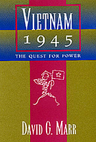 Vietnam 1945 : the quest for power