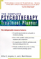 The complete psychotherapy treatment planner