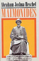 Maimonides : a biography