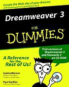 Dreamweaver 3 for dummies