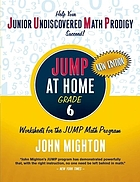 JUMP at home. worksheets for the JUMP math program