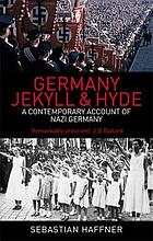 Germany : Jekyll and Hyde : Sebastian Haffner
