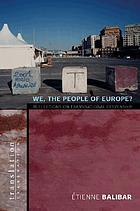 We, the people of Europe? : reflections on transnational citizenship
