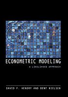 Econometric modeling : a likelihood approach