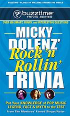 Micky Dolenz' rock 'n rollin' trivia game