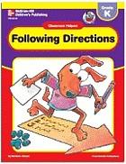 Following directions : kindergarten