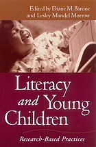 Literacy and young children : research-based practices
