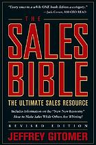 The sales bible : the ultimate sales resource