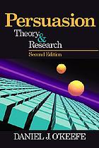 Persuation : theory and research