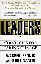 Leaders : the strategies for taking charge