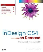 Adobe InDesign CS4 : on demand