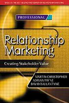 Relationship marketing : creating shareholder value