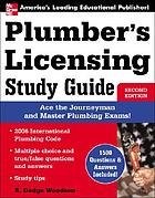 Plumber's licensing study guide