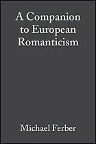 A companion to European romanticism