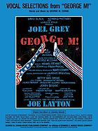 Vocal selections from George M
