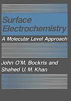 Surface electrochemistry : a molecular level approach