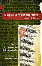 A guide to Welsh literatureA guide to Welsh literature