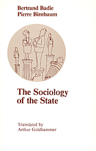 The sociology of the state