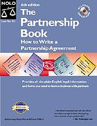 The partnership book : how you (and a friend) can legally start your own business