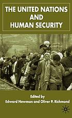 the united states and human security richmond oliver p newman edward