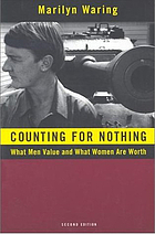 Counting for nothing : what men value and what women are worth