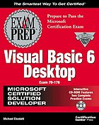 MCSD Visual Basic 6 desktop exam prep