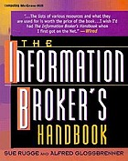 The information broker's handbook