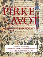 Pirke Avot : a modern commentary on Jewish ethics