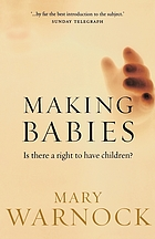 Making babies : is there a right to have children?