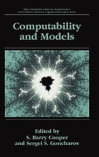 Computability and models : perspectives east and west
