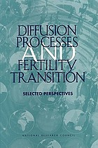Diffusion processes and fertility transition : selected perspectives