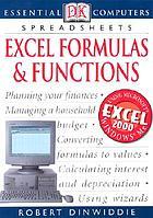 Spreadsheets : Excel, formulas & functions
