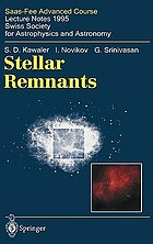 Stellar remnantsStellar remnants : lecture notes 1995