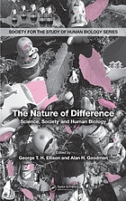 The nature of difference : science, society, and human biology