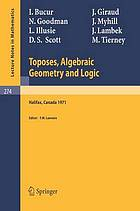 Toposes, algebraic geometry and logic
