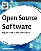 Open source software : implementation and management